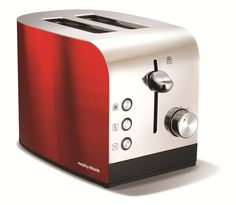 Accents Red 2 Slice Toaster | Sandwich Toasters & Toasters