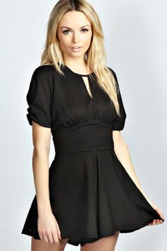 But the one in blue! Amy Vintage Style Crepe Playsuit at boohoo.com