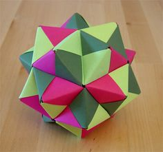 Origamipage - Sonobe Stern