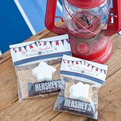 S'mores Kits from Baby Shower