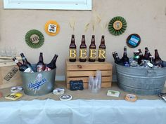 beer birthday decorations - Google Search