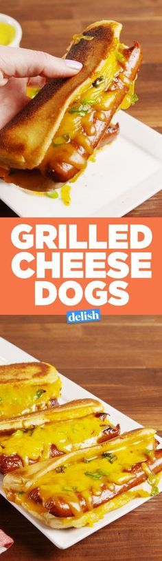 Grilled Cheese Dogs: How Have We Not Thought of This Before?Delish
