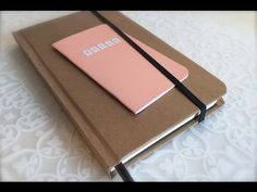 Learn to make the cover for a Moleskine style journal/planner with this great and in depth tutorial. (Part 2/2)