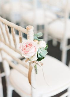 An Intimate July Wedding – Morden Hall Pretty pink roses were tied to wedding ceremony chairs at this London Wedding Venue. Wedding Ceremony Ideas, Wedding Events, Church Wedding, Weddings, Wedding Chair Decorations, Wedding Chairs, Floral Wedding, Wedding Bouquets, Wedding Flowers