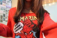 I love Spider-Man!!!! He's my favorite superhero