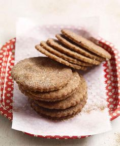 Brown sugar cinnamon crisps