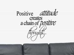 Items similar to Develop An Attitude. Brian Tracy Inspirational Quote Vinyl Wall Art Decal Sticker - Vinyl Wall Decal - Vinyl Wall Quotes on Etsy Attitude Of Gratitude, Positive Attitude, Positive Quotes, Positive Thoughts, Wall Decal Sticker, Vinyl Wall Decals, Inspirational Wall Decals, Inspirational Quotes, Christian Wall Decals