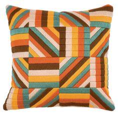 Vervaco Bold Geometric Style 1 Long Stitch Cushion Panel Kit