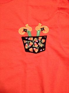 Halloween Witches Feet Pocket Tee  Find us on FB  https://www.facebook.com/pages/Gigis-Pick-Stitch-Creations/611663832197866