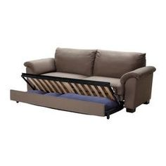 TIDAFORS Sofa bed - Dansbo medium brown - IKEA
