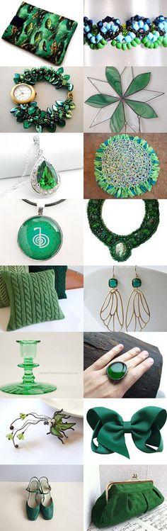 Green As Grass by Jo Stamatakis on Etsy--Pinned with TreasuryPin.com #greengiftideas