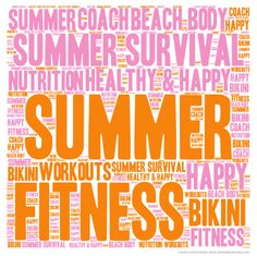 #Custom Word Clouds - #health #fitness #coaching #graphics
