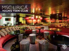 MSC Lirica was redesigned to give the young guest on board an area dedicated to their fun. #MSCLirica Redizajnirana MSC Lirica svojim mladim gostima nudi mjesto za zabavu osmišljeno samo za njih.