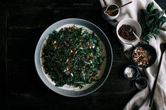 Wild Rice & Rocket Salad with Chai Soaked Raisins  |  Gather & Feast