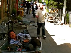 Beijing How To Beat the Heat #23: take a casual nap in the shade