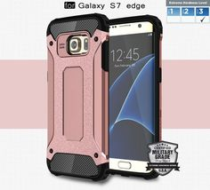 Samsung Galaxy S7 edge Case-Heavy Duty Dual Layer EXTREME Protection Cover Heavy Duty Case-Extreme Hard Series [Samsung S7 edge]