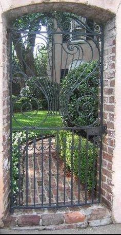 love the scrollwork, Charleston, SC
