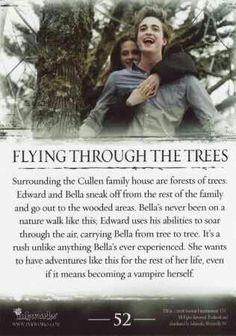 #TwilightSaga #Twilight - Flying Through The Trees #52