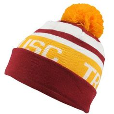 Nike USC Trojans Vault Best Knit Beanie - Cardinals-Gold have to get this