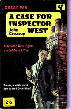 A Case for Inspector West by John Creasey by ConstantCollectors