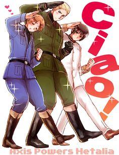 Hetalia The Axis Powers                      Ciao! to you too