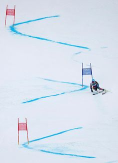 United States's gold medal winner Ted†Ligety clears a gate during second run of the men's giant slalom at the Alpine skiing world championships in Schladming, Austria, Friday, (AP Photo/Matthias Schrader) Winter Fun, Winter Sports, Alpine Skiing, Ski Ski, Alta Ski, Foto Sport, Gold Medal Winners, Ski Racing, Park City Utah