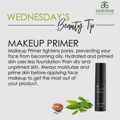 HUGE SALE! Arbonne's Nontoxic, vegan, and cruelty-free primer and eye primer is 25% off until March 15! Get yours before time runs out. For a flawless airbrushed finish. #europeaningredients #manufacturedintheusa #botanicalingredients #spackleforyourskin #airbrushfinish #veganmakeup #cleanmakeup #fruitextracts #vegan #healthypleasures #pink #arbonnemakeup #nontoxicmakeup #detox #noparabens #nomineraloil #nochemicals #nodyes #pure #safe #beneficial #arbonne #higherstandard #hugesale #primer