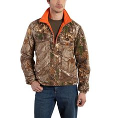 Carhartt Woodsville 'Reversible' Jacket - The Brown Duck