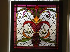 stained+glass+art | Art Nouveau / Art Deco Stained Glass Windows and Doors Gallery