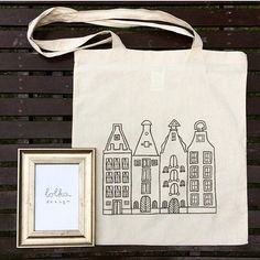 Amsterdam Canvas Totebag