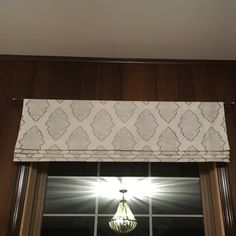 Mock roman shade valance. Your choice of fabric up to 10 | Etsy