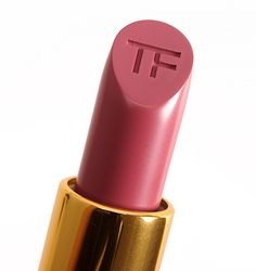 Tom Ford Pussycat (04) Lip Color Matte ($50.00 for 0.10 oz.) is muted, pinky-plum with cool undertones and a matte finish.