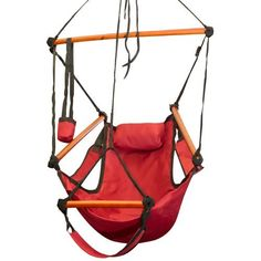 Deluxe Red Sky Air Chair Swing Hanging Hammock Chair with Pillow & Drink Holder Best Choice Products http://www.amazon.com/dp/B003P566SW/ref=cm_sw_r_pi_dp_-iznub01DTCYX