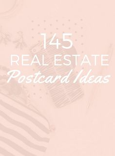 145 Easy Real Estate Postcard Ideas - Balderdash House