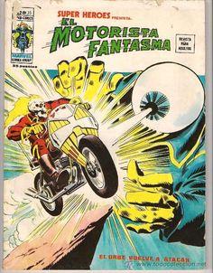 COMICS EL MOTORISTA FANTASMA EL ORBE VUELVE A ATACAR V-2 Nº 35 - Foto 1