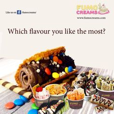 Which flavour you like the most?