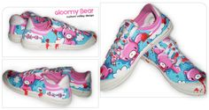 Gloomy Bear Volleys by ~Okiedoke on deviantART... wish they were available to buy!!!