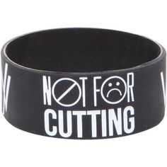 Rubber Bracelets For Mens : Sleeping With Sirens Wrists Rubber Bracelet | Hot Topic found on Polyvore