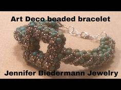Swarovski rivoli focal bracelet tutorial - YouTube