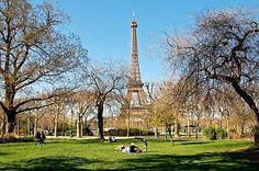 Paris- had lunch sitting in the park with this view.