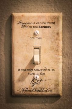 Harry Potter Albus Dumbledore quote light switch plate Harry Potter Can Necklaces Mean a Pain in the Albus Dumbledore, Citation Dumbledore, Harry Potter Quotes Dumbledore, Décoration Harry Potter, Harry Potter Nursery, Images Harry Potter, Harry Potter Products, Harry Potter Light, Lucky Quotes