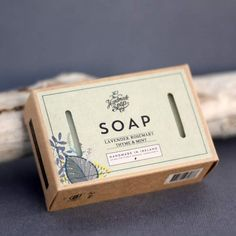 The Handmade Soap Company Lavender, Rosemary, Thyme & Mint Soap Soap Company, Animal Testing, Bar Soap, Organic Skin Care, Sensitive Skin, Natural Beauty, Lavender, Essential Oils, Mint