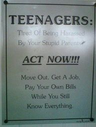 Love this!!! I think I shall have this on my wall when I have teenagers...