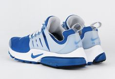 """NIKE AIR PRESTO """"ISLAND BLUE"""" the """"Island Blue"""" version up next, the cool blue hue across the upper with white accents and a cloudy white TPU cage hits Nike Air Presto. @LaceMeUpNews"""