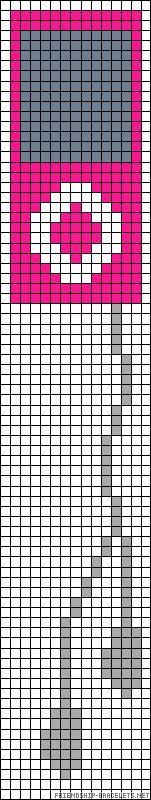 iPod perler bead pattern