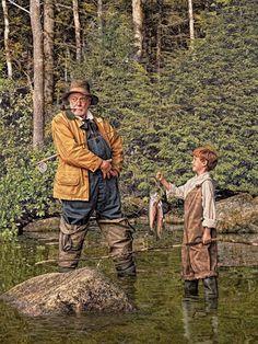 Ford, Randal - Good Day's Fishing, III (L.L. Bean- ad), 2013