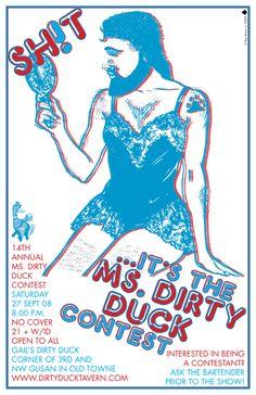 Ms. Dirty Duck Contest | aceofspadespdx.com