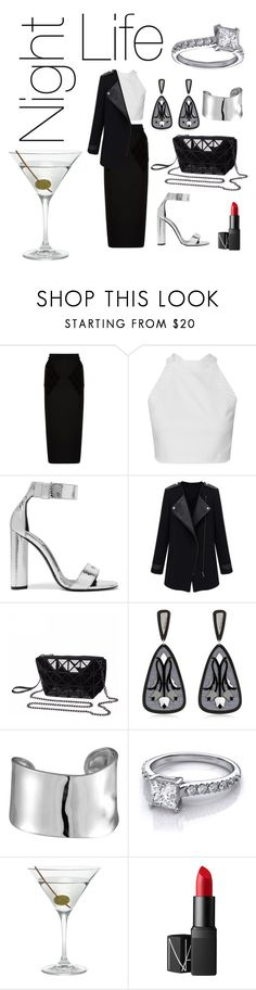 """""""Someday in Paris"""" by anaciesc ❤ liked on Polyvore featuring Balenciaga, Tom Ford, Anna e Alex, Lord & Taylor, Nordstrom and NARS Cosmetics"""