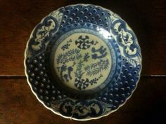 Antique Chinese Asia blue white ceramic monkey plate circa 1790 Purchase in store here http://www.europeanvintageemporium.com/product/antique-chinese-asia-blue-white-ceramic-monkey-plate-circa-1790/