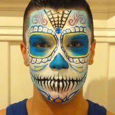 sugar skull, day of the dead, male